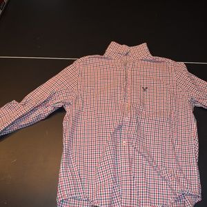 Large American Eagle Button Down